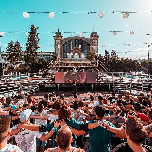 Flow State Yoga Open Air Prague